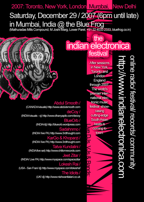 Indian Electronica Festival